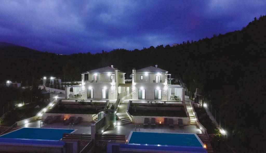 Villas in Leukada - Mikros Gialos